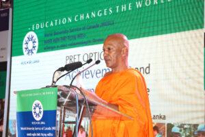 Ven. Dr. Devalegama Dhammasena Thero making his presentation during the opening plenary